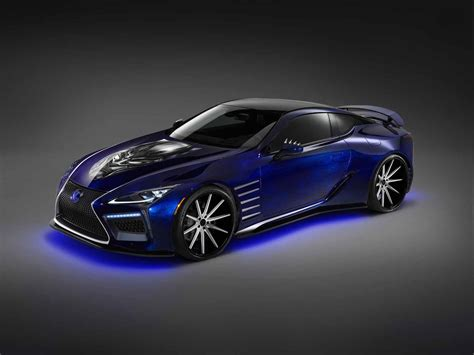 lexus car black lexus is bringing a black panther inspired lc 500 to sema