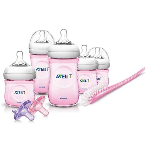born perfect bottle new pink natural infant starter set perfect gift for