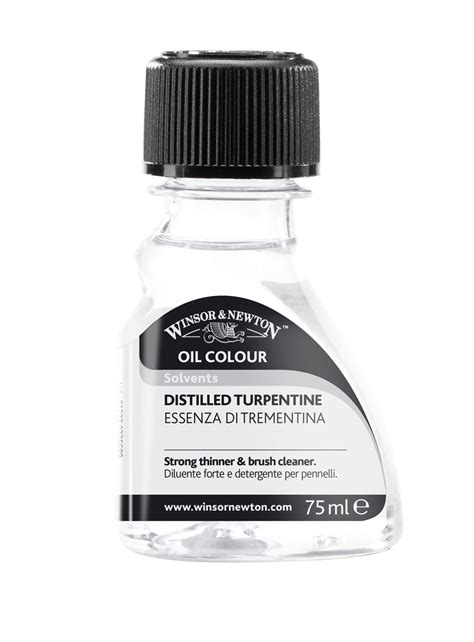 Winsor Newton Distilled Turpentine 250ml For Colour products craft materials stationery office supplies