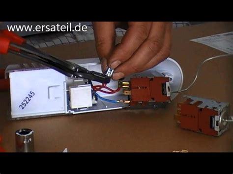 kuehlschrank thermostat wechseln anleitung youtube