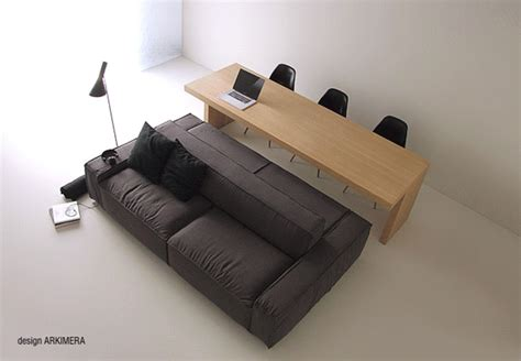 sofa cum dining table living cum dining a double sided sofa that s best for