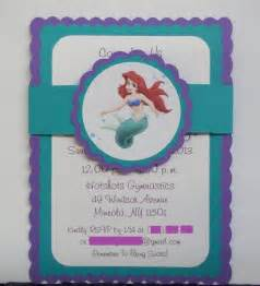 mermaid birthday invitations via etsy themed cards mermaid birthday