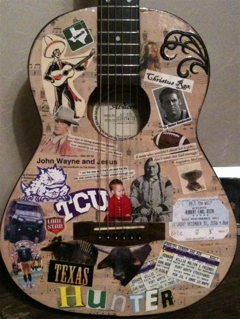 How To Decoupage A Guitar - decoupage guitar i would that guitar