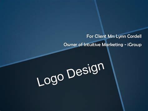 design logo in powerpoint logo design powerpoint