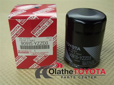 genuine oem toyota filter 90915 yzzd3 toyota parts