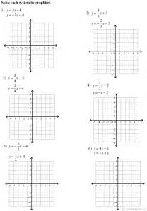 solve equations by graphing worksheet