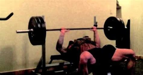 us navy seal christopher mark heben bench press 335lbs