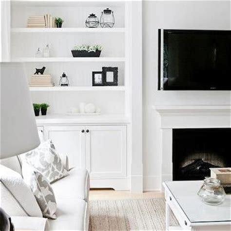 built in shelves flanking television design ideas bookcases built around fireplace design ideas
