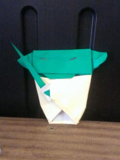 Origami Yoda Dwight - my origami yoda origami yoda