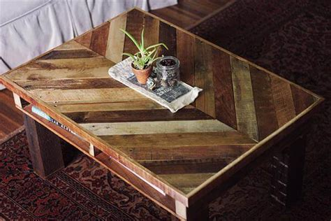 Pallet Wood Coffee Table Wood Pallet Coffee Table Pallet Furniture Diy
