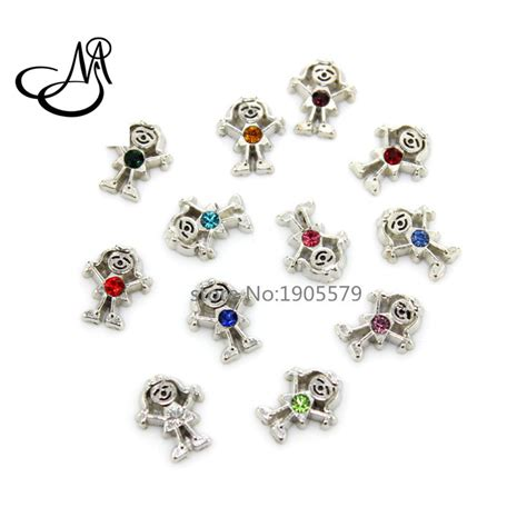 Origami Owl Birthstone Charms - 120pcs lot floating charms 12 months