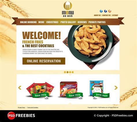 Restaurant Menu Templates Psd 40 restaurant templates suitable for professional business