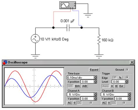 measure voltage across resistor using oscilloscope 28 images chet floyd principles 7 rc