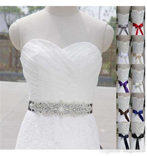 2017 2016 cheap wedding bridal sashes belts sequin