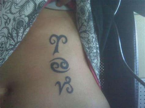 family zodiac tattoo family zodiac tattoo