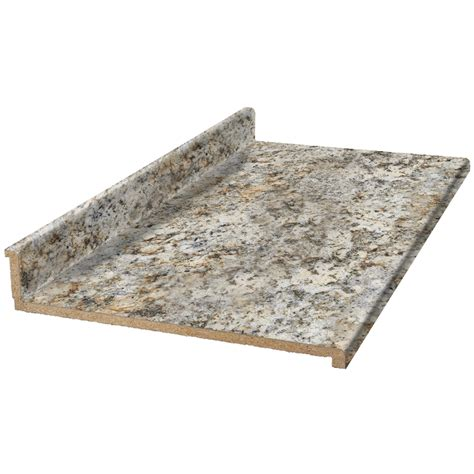 8 Ft Granite Countertops by Shop Vt Dimensions Formica 8 Ft Geriba Gold Granite