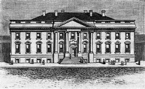 first white house did slaves build the white house
