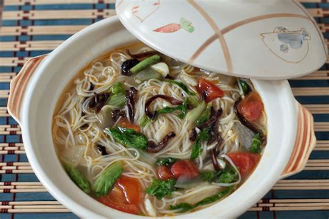 new year longevity noodles new year longevity noodles misua soup recipe