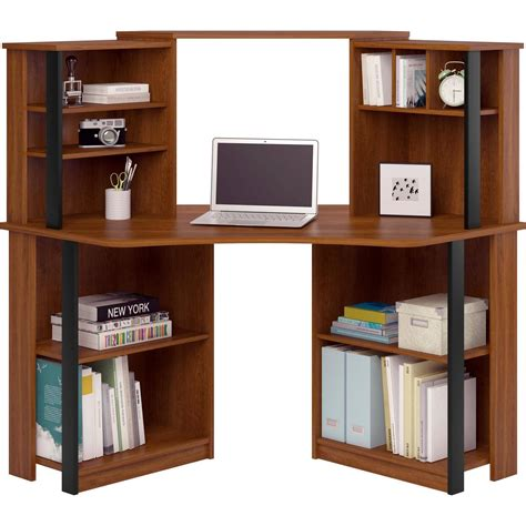 black l shaped desk with hutch home remodeling and
