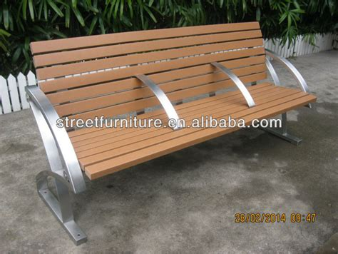 park bench seat innovative park bench seats iso9001 certified stainless steel bench seat with recycled