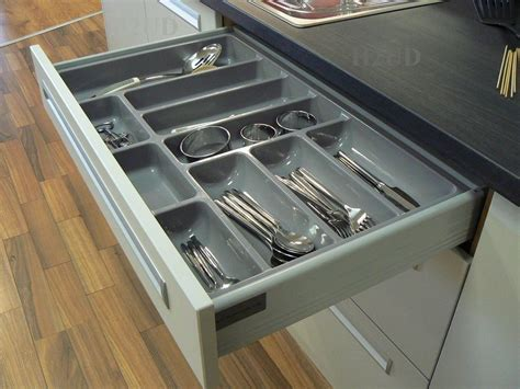 Cutlery Inserts For Drawers by Quality Plastic Cutlery Trays Kitchen Drawers Blum