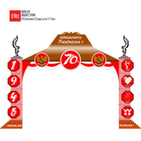 desain gapura hut ri ke 70 lomba desain konsep gapura 17 agustusan hellomotion com