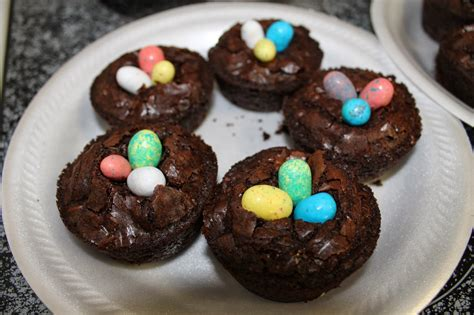 easy easter desserts let it be glory brownie bird nests super duper easy