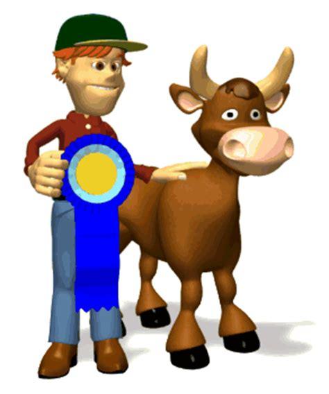 imagenes con movimiento vacas gifs animados de granjeros trabajando en la granja