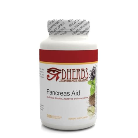 a supplement involves dherbs pancreas aid 100 count bottle ebay