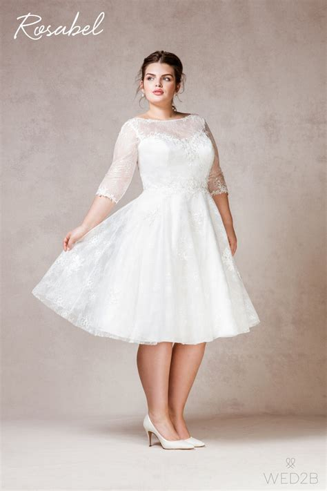 Length Wedding Dress by Plus Size Tea Length Wedding Dresses Dress Home