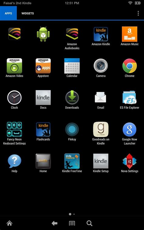 kindle for android home how to get a standard android home screen on your kindle 171 gadget hacks