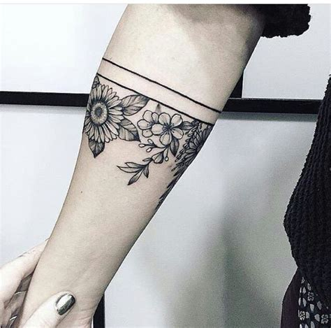 pinterest tattoo armband image result for women s forearm geometric armband