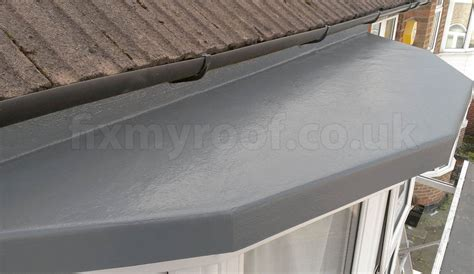highland flat roofing contractors fibreglass how to fibreglass a bay roof do it yourself see how at fixmyroof