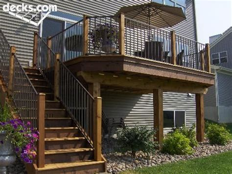 second story deck plans pictures 84 best elevated and raised deck ideas images on pinterest