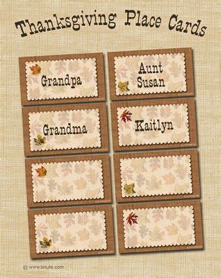 editable place card template thanksgiving 1000 ideas about thanksgiving place cards on