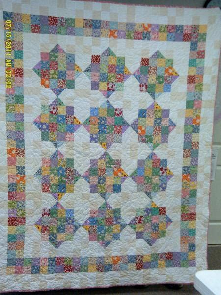 pattern split split nine patch quilt 2 5 inch square quilts