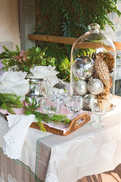 french country cottage christmas decor cottage classic french country cottage with christmas decor home bunch