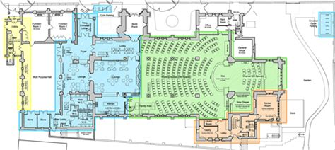 Floor Plan Of A Spa by St Paul S Church Leamington Spa Proposed Floor Plans