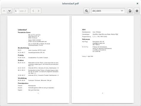 Anschreiben Zwei Seiten Bewerbung Mit Hilfe Vorlagen Unter Ubuntu Oder Arch Linux Schreiben Linux Und Ich