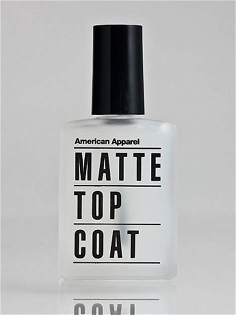 best matte top coat nail american apparel matte top coat nail