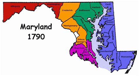 maryland map facts county map md map travel holidaymapq