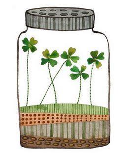 badly boy four leaf clover jar of luck i my story of when a four leaf clover