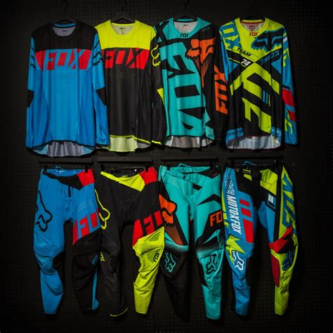 fox motocross gear for ricky carmichael fox racing pro mx rider