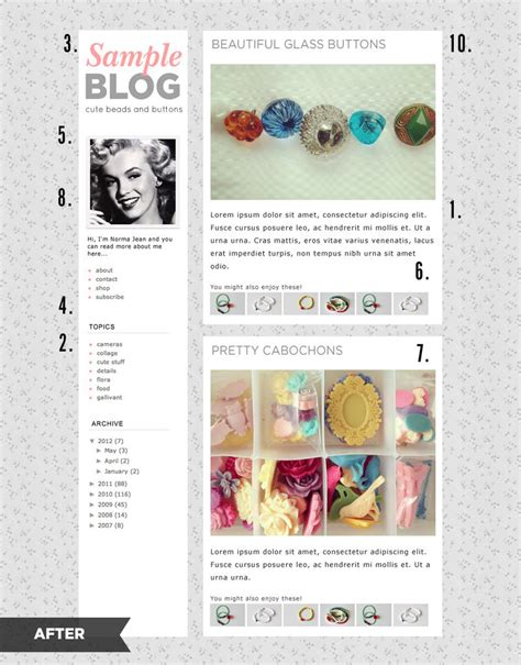 blogs design 10 blog layout tips a beautiful mess