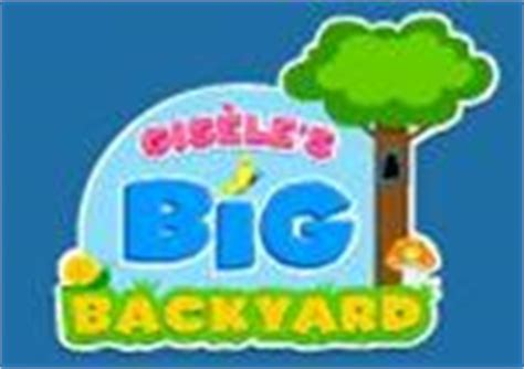 gisele big backyard pre k learning resources