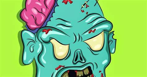 ghandrix cara membuat gambar zombi di coreldraw sangat mudah