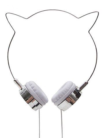Cat Ear Headphone Headseat Bentuk Telinga Kucing zara martin headphones editor cat and martin