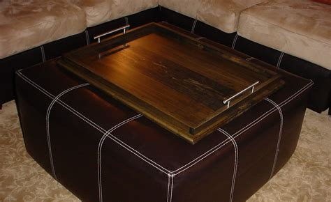 Attractive And Efficiently Large Ottoman Trays Large Wooden Trays For Ottomans