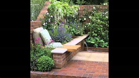 small walled garden design