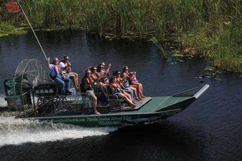fan boat tours florida florida cracker airboat rides guide service vero beach